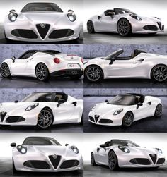 2015 Alfa-Romeo 4C Spider Debuts Welcome Style Enhancements via Classier…