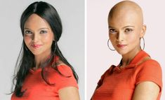Singapore based part-time model Glenda Narulla shaved her head bald for a fashion photo shoot. Bald Head Women, Bald Look, Part Time Model, Shave Her Head, Going Bald, Bald Girl, Hair Tattoos, Shaved Head, Hair Dye Colors