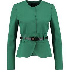 """Emporio Armani"" Green Cropped Slim Fit Jacket - TK Maxx"