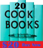 20 cook books for $20