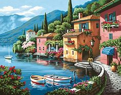 Dimensions Needlecrafts Paintworks Paint By Number, Lakeside Village Dimensions Needlecrafts http://www.amazon.com/dp/B0039YBV16/ref=cm_sw_r_pi_dp_gGG7ub16FYX6T