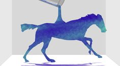 Carnegie Mellon University professor Paolo Pedercini asked his animation students to reimagine an 1870s iconic film footage by Eadweard Muybridge of a galloping horse.