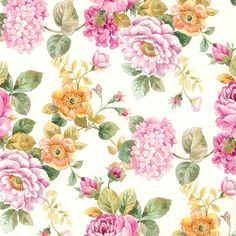 Kartos Botanical Print Paper - Camilla