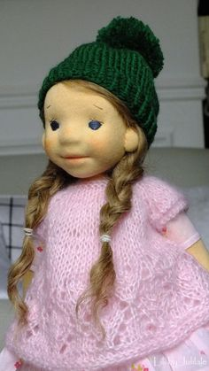 Lili - waldorf inspired doll by Julilale