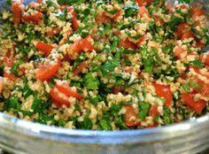 Ταμπουλέ. Μία πολύ νόστιμη και δροσερή σαλάτα και ένας πολύ ωραίος τρόπος για να δοκιμάσουμε το πλιγούρι.
