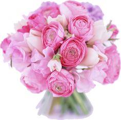花束イラスト-ピンク・バラ・花束