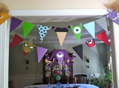 Monster's Inc Birthday Party Ideas | Photo 11 of 18 | Catch My Party