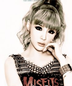 2ne1's lead vocalist Bom
