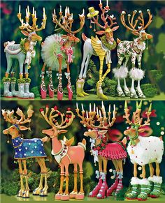 I have these Patience Brewer reindeer and love them!