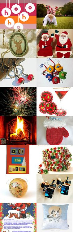 Celebrating Christmas by Rhian on Etsy--Pinned with TreasuryPin.com