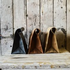 Marlowe Waxed Canvas Lunch Bags - An innovative yet stylish reusable lunch bag for the environmentally conscious. Visit: http://thestore.com/marlowe-waxed-canvas-lunch-bags/TSD5H1PIHU