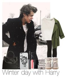 """""""Winter Day With Harry"""" by hazzgirl03 ❤ liked on Polyvore featuring beauty, Sebastian Professional, Topshop, UGG Australia, Uncommon, Prada, House of Harlow 1960 and NARS Cosmetics"""