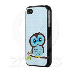 Blue owl Iphone 4 Cases $41.95