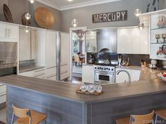 Comfortable contemporary gray kitchen in Sweet Bay | Pelican Marsh | Naples, FL