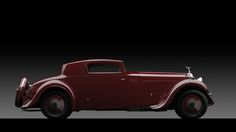 1933 Rolls Royce Phantom II Coupe by Freestone & Webb. Simply beautiful