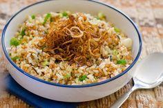 Comi esta salada num casamento e adorei! É saudável, alimenta e muito saborosa. Light Diet, Fried Rice, Diet Recipes, Low Carb, Favorite Recipes, Yummy Food, Cooking, Healthy, Ethnic Recipes