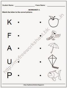 10 Best Nursery, Kindergarten Worksheets images