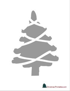 Home Decoration With Flowers Christmas Tree Stencil, Christmas Tree Coloring Page, Christmas Tree Template, Printable Christmas Games, Christmas Tree Clipart, Christmas Tree Images, Large Christmas Tree, Christmas Frames, Christmas Decorations