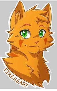 Cœur de Feu/Étoile de Feu (FireHeart/FireStar) Warrior cats