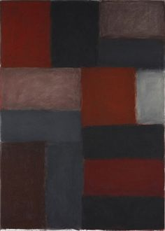 Sean Scully WALL OF LIGHT ROMA 20.3.13 2013 Pastel on paper over alu dibond panel 91 x 65 inches 231.1 x 165.1 centimeters