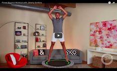 Hier habe ich eine perfekte Auswahl an Minitrampolin Übungen für euch zusammengestellt. Neben einem Einführungsvideo findet ihr ein 15 Minuten Workout und