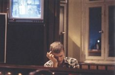 "Hansa Studios, Berlin, writing lyrics for ""Heroes"" 1977"