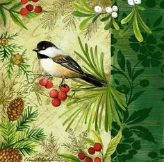 CHRISTMAS CHICKADEE *