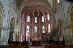 Intérieur de l'église saint marcel.