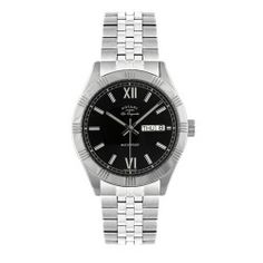 Rotary Gents Les Originales Classic Bracelet with Black Dial Swiss-Made Watch