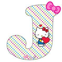 Queremos compartir estos nuevos modelos de letras de Hello Kitty, un alfabeto fabuloso con una decoración única, el detalle del moño clásico de la gatita, acompañado por su figura. Se podrá prepara…