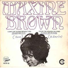 Maxine Brown - I Can't Get Along Without You (No Puedo Seguir Sin Ti) (Vinyl) at Discogs