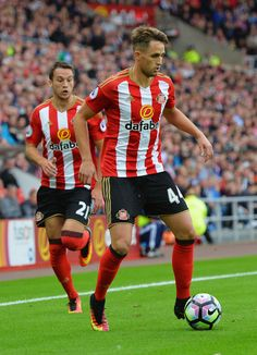 Adnan Januzaj of Sunderland in action during the Premier League match between Sunderland and Crystal Palace at the Stadium of Light on September 24, 2016 in Sunderland, England.