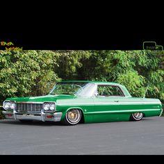 Low rider 64 Impala-dream car!!!