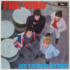 The Who 'My Generation' LP Cover