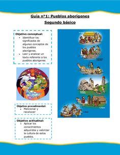 Guía n°1: Pueblos aborígenes Segundo básico Objetivo conceptual: Identificar…