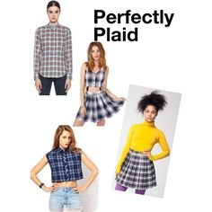 """Trend to Try: Plaid"" by thestylebarn on Polyvore"