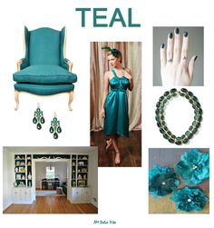 AM Dolce Vita, Teal Color Inspiration Board