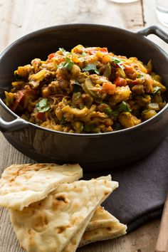 Baigan Bartha NYT Cooking: This satisfying vegetarian dish is adapted from a recipe belonging to Julie Sahni, the popular Indian chef, cookbook author and teacher. Indian Food Recipes, Vegetarian Recipes, Vegetarian Dish, Cooking Recipes, Healthy Recipes, Ethnic Recipes, Eggplant Curry, Roast Eggplant, Eggplant Recipes