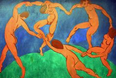matisse | La Danza (1910) - I was so affected by the colors and the sense of movement he creates that I had to include it in my novel.