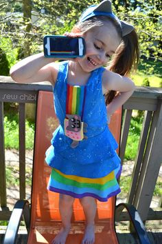 Nyan Cat. Scirocco Pattern by Figgy's. #dress