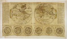 planisphere moullart. Древние карты мира в высоком разрешении - Старинные карты