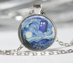 Hey, I found this really awesome Etsy listing at https://www.etsy.com/listing/162422946/dr-who-necklace-tardis-jewelry-starry