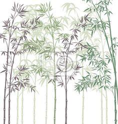 Resultado de imagen para patrones de stencil de vegetacion y jardines