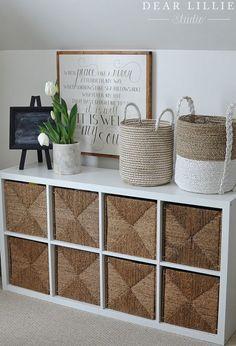 Baskets, Baskets, and More Baskets... - Dear Lillie Studio