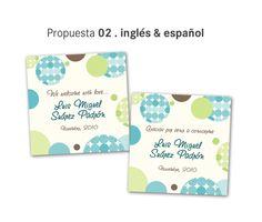 Tarjetas para recuerdos de nacimiento - Imagui