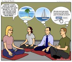 Bildergebnis für meditation comic
