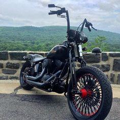 @bmwlowlife90 • #harleydavidson #showoffmyharley #SOMH #teamSOMH #softail #springer #springersoftail #bikelife #follow #instadaily #instalike #crossbones #lifebehindbars #allblack #badass #l4l #biker #harley #shoutout #posted #sittinpretty 💀👊