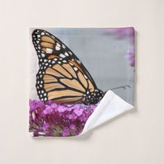 Monarch Butterfly Bath Towel Set - home gifts ideas decor special unique custom individual customized individualized