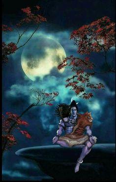 Lord Shiva as adiyogi in creati ve art painting Shiva Shakti, Rudra Shiva, Shiva Parvati Images, Shiva Linga, Lord Shiva Hd Wallpaper, Hanuman Wallpaper, Angry Lord Shiva, Mahadev Hd Wallpaper, Shiva Photos