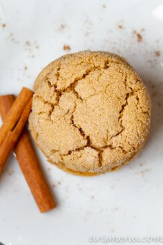 Chai spiced snickerdoodles! Made these with fig butter instead of apple butter - om nom nom